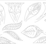 downloadable woodcarving pattern 12